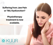 Physiotherapist in Dubai treating jaw pain or TMJ disorders